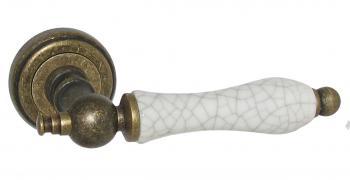 Керамические ручки на розетке USK Z-53750 DB оптом Киев, ruchki, фурнитура