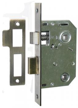 Межкомнатный механизм 62*45WC, защелка дверная с фиксатором купить оптом Киев